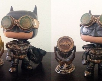 CUSTOM Steampunk Batman Funko Pop