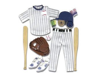 Jolee's Boutique Dimensional Stickers Baseball, Baseball Stickers