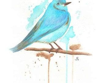 Bird - Art Print (Digital)