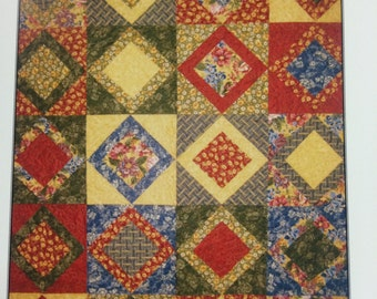 Grandmothers Attic Notecard Quilt Pattern