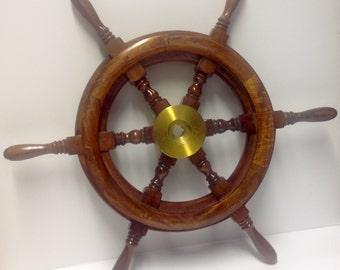 Steering wheel (sailing boat)