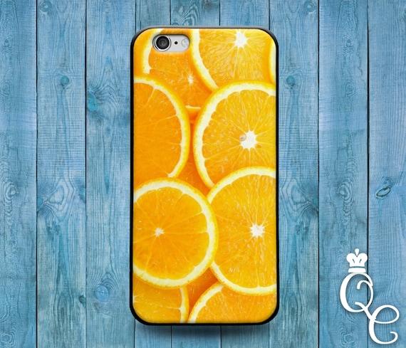 iPhone 4 4s 5 5s 5c SE 6 6s 7 plus iPod Touch 4th 5th 6th Generation Bright Orange Slice Cute Bright Phone Cover Custom Funny Fun Fruit Case