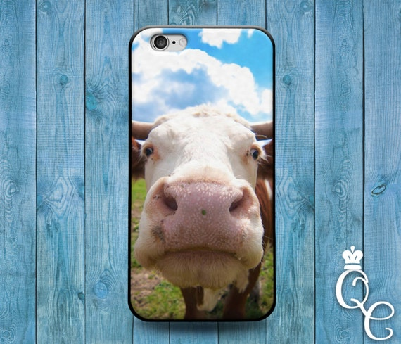 iPhone 4 4s 5 5s 5c SE 6 6s 7 plus iPod Touch 4th 5th 6th Generation Cute Cow Calf Funny Animal Phone Cover Cool Custom Fun Farm Case