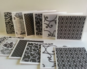 Mini notecards, Mini notes, Small note cards, Thank you notes, Lunch box notes, Set of 12