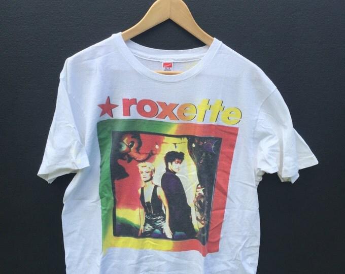 Roxette World Tour 1991-1992 vintage Tshirt