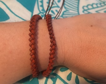 Leather Wrist band/ anklet