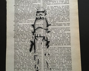 Star wars stormtrooper, dictionary page art. 15cm x 23cm