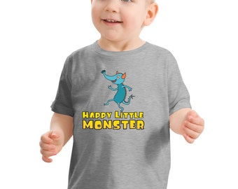 Happy Little Monster (Willy) Toddler T-shirt