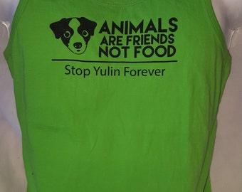 Stop Yulan Forever Mens Neon Green