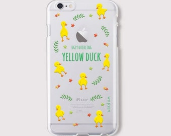 iphone 6 case - Yellow Duck jelly phone case