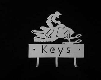 Snowmobile Key Holder