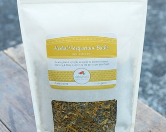 Herbal Postpartum Baths for Birth, Pregnancy, Vaginal Tears & Hemmorhoids