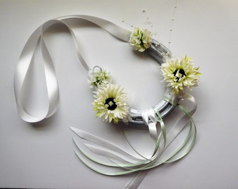 Real wedding horseshoe, personalised.
