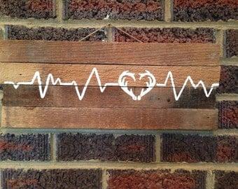 Antler heart beat