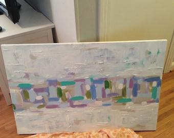 Large acrylic on canvas!