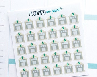 Bank Planner Stickers!