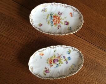 Pair of Trinket Dishes, SAXONIA