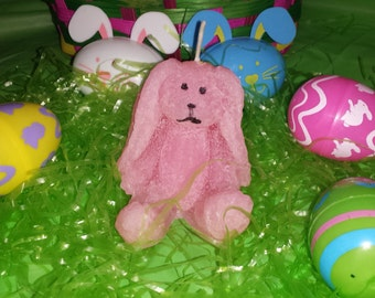 Easter Bunny Candle, Floppy earred bunny candle, bunny candle