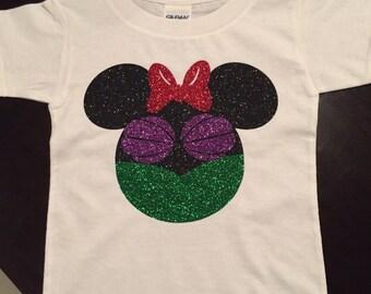 Ariel shirt, little mermaid, Disney princess, Minnie princess, Disneyland princess,