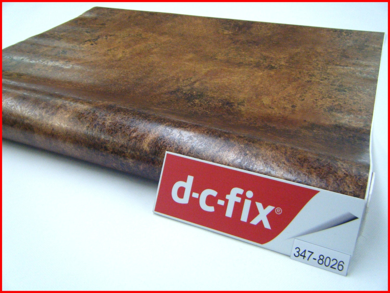 Contact paper dc fix 67 5cm x 2m vintage copper design effect for Dc fix fensterfolie