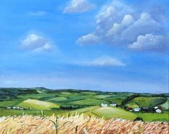 Harvest Time by Helen Condon. Giclée Print 46 x 28cms
