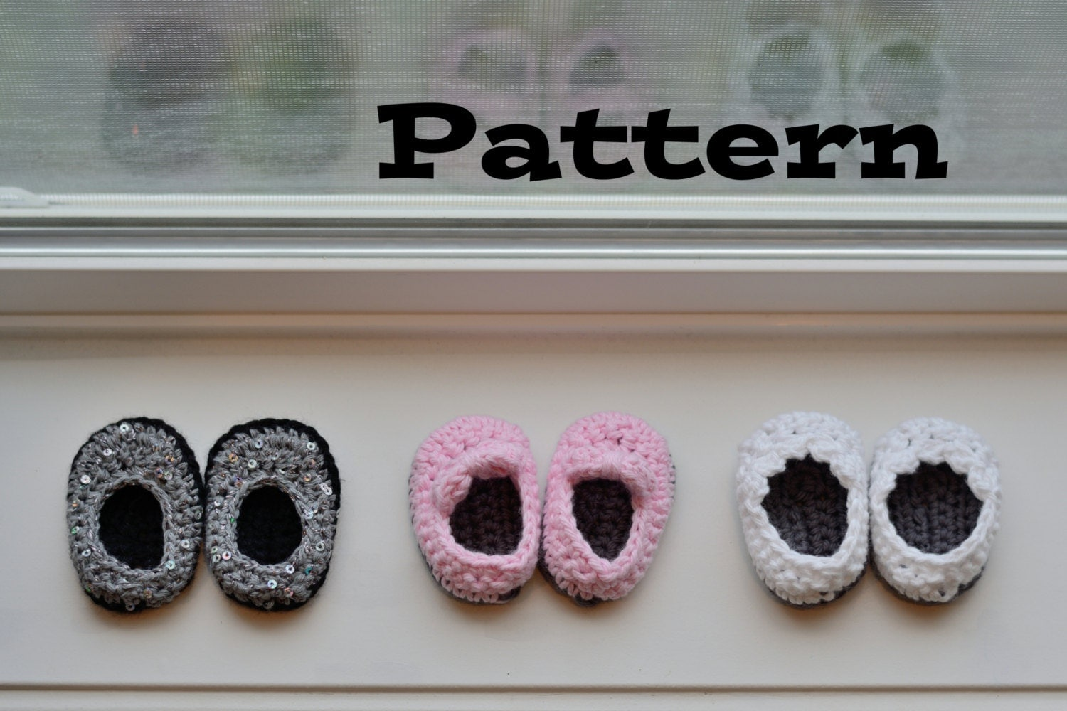 PDF Pattern Crochet Shoes for 18 Inch Dolls Doll Shoe