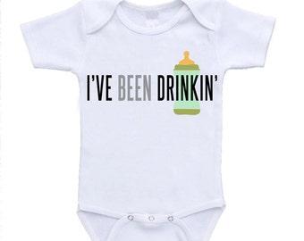 I'VE BEEN DRINKIN' Baby Onesie