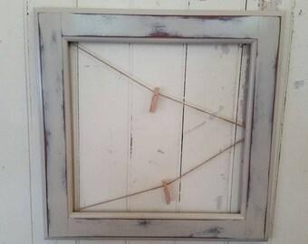Picture/note holder, wall decor, primative wall decor,  home decor