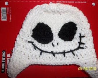 Jack The Skeleton Crochet Hat