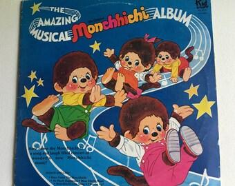 Monchhichi Album,The Amazing Musical Monchhichi Album, Kid Stuff Record Album