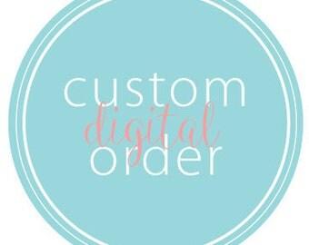 Custom printable stickers