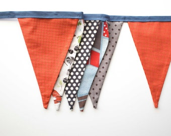 Woodland Banner, Woodland Bunting, Nursery Decor
