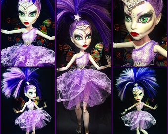 OOAK Monster High Doll Spectra (Moonlit Fairy)