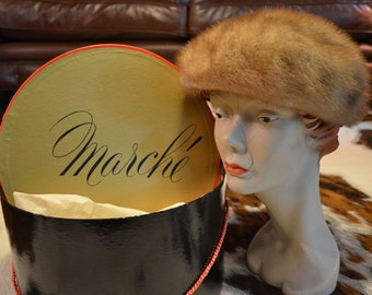 Christian Dior Fur Hat, 60's/70's