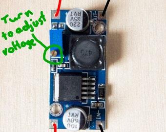 Voltage Step Down Module (LM2596S-ADJ)