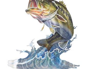 Next Innovations Medium Bass Refraxions 3D Wall Art
