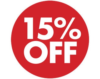 15% Discount Coupon