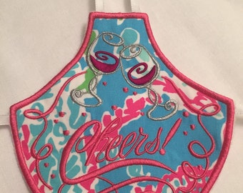 Stylish Wine Bottle Apron