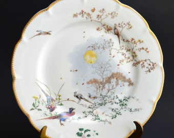Haviland Limoges Automne Limited Edition Plate