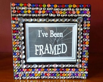 I'VE BEEN FRAMED... With my friends and family photo album!
