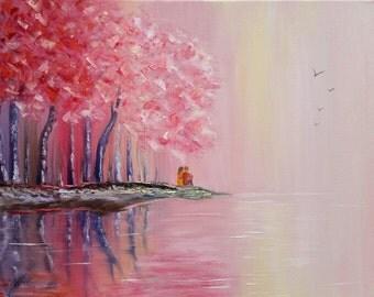 Harmony/Original/ Oil on canvas/ Fine ENERGY ART by Ingrida