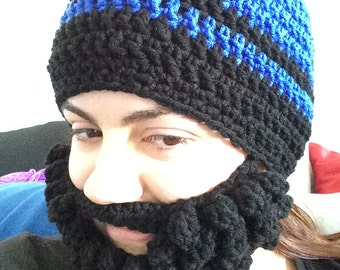 Hat with Removable Beard (Adult Size)