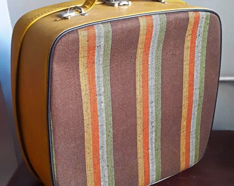 Vintage Mustard Travel Case