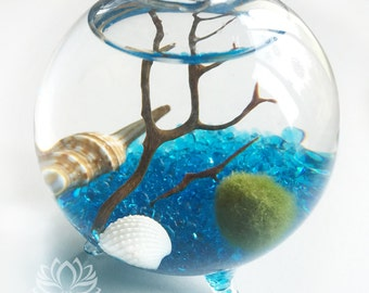 Marimo 3 Footed Sphere Aquarium by Zentilly©