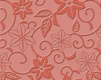 "Craft Concepts - 4""x6"" Embossing Folder - In Bloom"