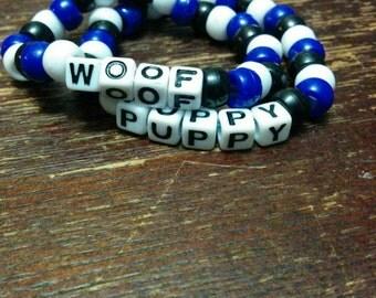 2x Puppy Play Bracelets