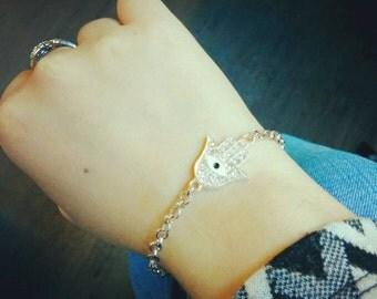 Precious hand of Fatima bracelet