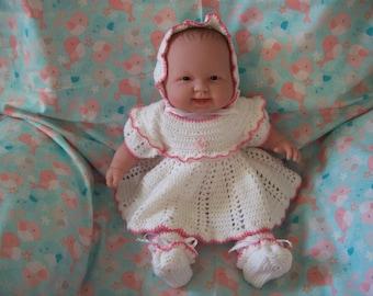 baby girl dress set size 6 months