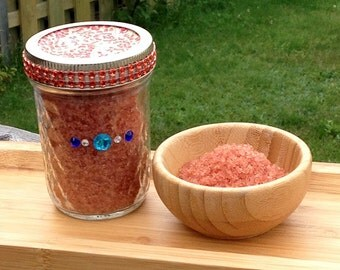 Red Velvet Cupcake Body Scrub