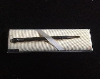 Sterling Silver Cross Pencil Vintage